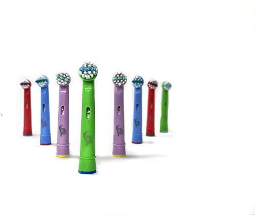 8 Cabezales de repuesto Oral B compatibles para niños genéricos 3AG +...