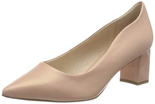Caprice Gillian, Zapatos de Tacón Mujer, Rosa (Rose Perlato 583), 37.5 EU
