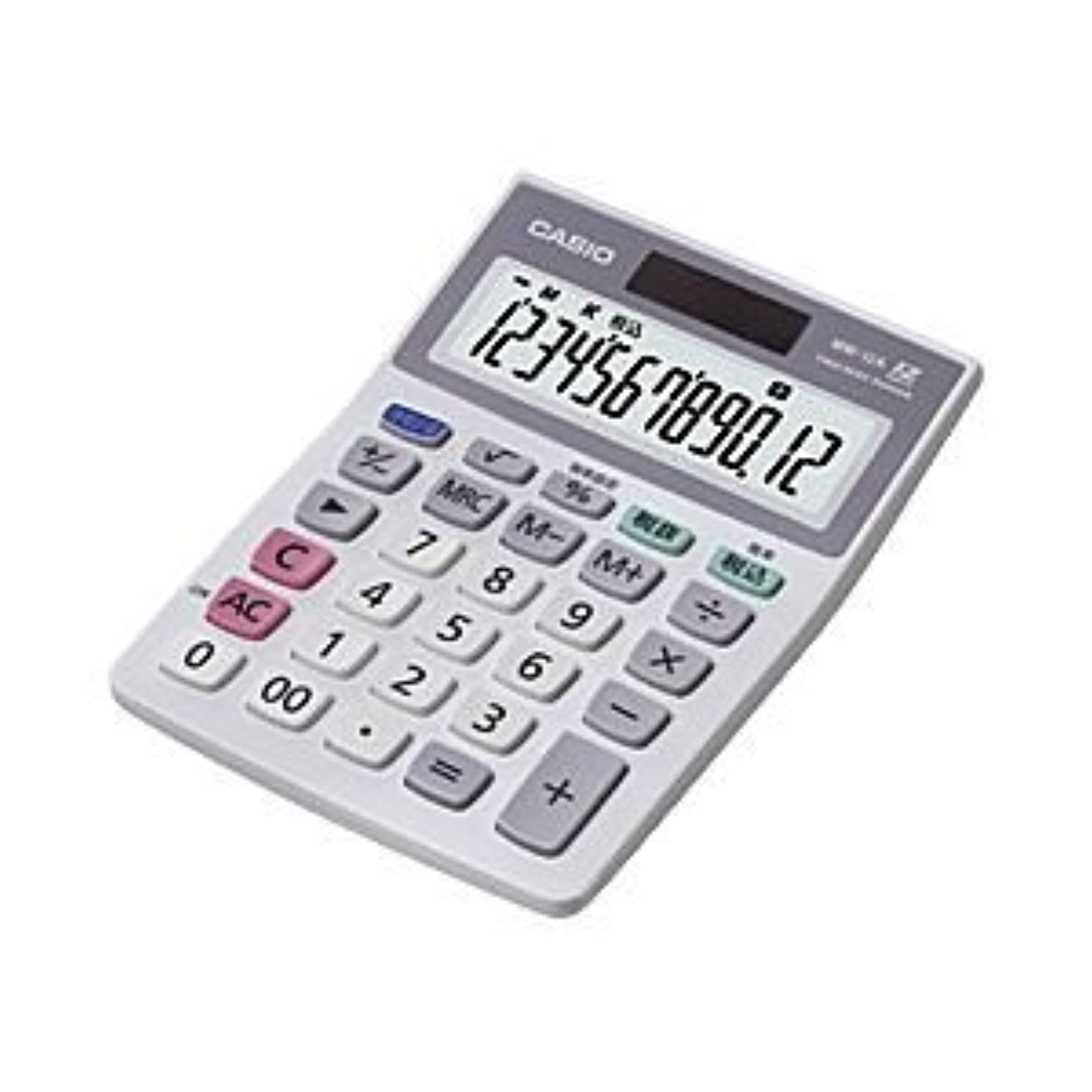 南アメリカ兄不注意(業務用セット) カシオ(CASIO) 小型電卓 12桁 縦14.5×横10.3×厚さ3.0cm MW-12A-N 1個 【×3セット】