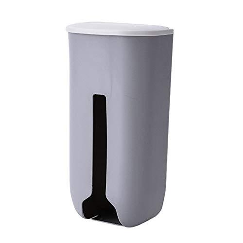 MiOYOOW Dispensador Bolsas de Plastico, Bolsas Plastico Organizador Soporte de Pared Caja de Almacenamiento de Plástico