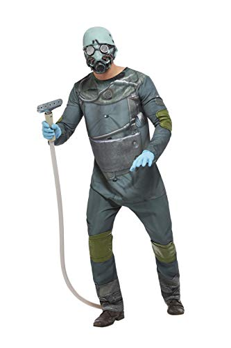Smiffys Costume Disfraz de Chernobyl, color marrn, L-Size 42'-44' (63053L)