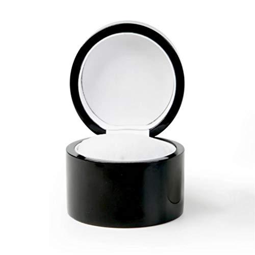 Shounadai Caja de Reloj - Caja de Reloj de Madera de Techo corredizo de Cristal Caja de Almacenamiento de Pulsera de joyería Caja de exhibición de Reloj Retro de Ocho cuadrículas (Color : Blac