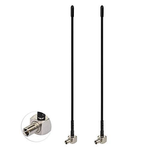 Bingfu 4G LTE Antenne 3dBi Weiche Peitsche Externe TS9 Antenne (2 Stück) Kompatibel mit AT&T T-Mobile Sprint Netgear Huawei MiFi Mobiler Hotspot Router USB Modem Jetpack AirCard AC791L 815S 770S 6620L