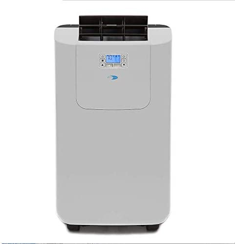 Whynter Elite ARC 122DHP 12 000 BTU Dual Hose Portable Air Conditioner and Heater Dehumidifier product image