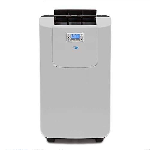 Whynter ARC-122DHP 12,000 BTU Dual Hose Portable Air Conditioner and Heater, Dehumidifier, Fan with Activated Carbon Filter plus Autopump and Storage bag for Rooms up to 400 sq ft, Multi