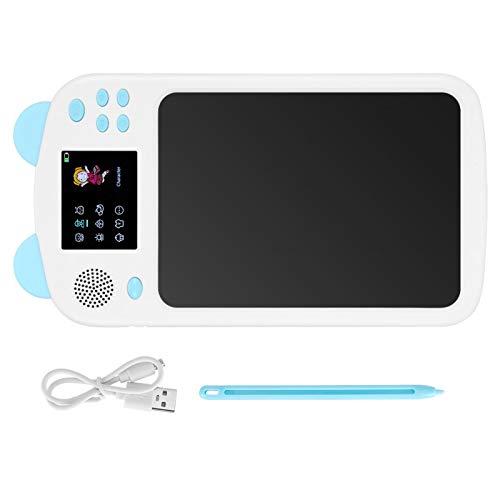 Tablero de Escritura LCD, Tableta gráfica, tabletas de Dibujo para niños, Tablero de Dibujo Digital, Pulido Fino para Aprender a Pintar, Aula de niños(Blue)