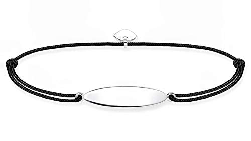 THOMAS SABO Bracelet 'Little Secret' silver black LS072-173-11-L20V