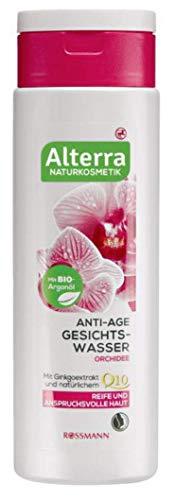 Orquídea de agua facial antiedad para pieles maduras y exigentes, con aceite...