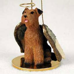 Conversation Concepts Christmas Ornament: Airedale Terrier