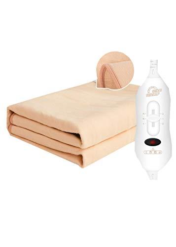 Mantas eléctricas, dobles, colchones eléctricos para uso doméstico aumentan la calefacción para aliviar el dolor-1.8 * 2.0m tercera marcha