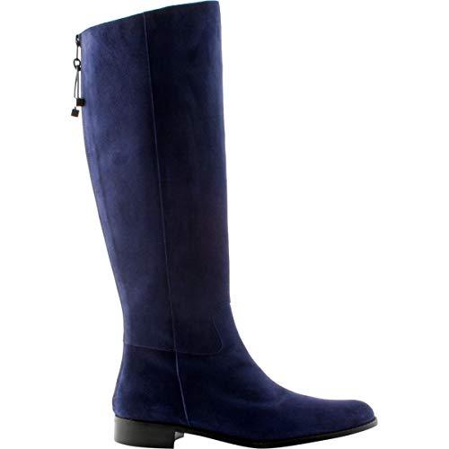 Exclusif Paris, Damen Stiefel & Stiefeletten, Blau - Marineblau - Größe: P38,5