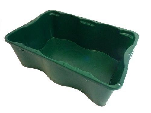 Transportbehälter Fleischkiste E2 Lagerbehälter Drehstapelbar mit Deckel