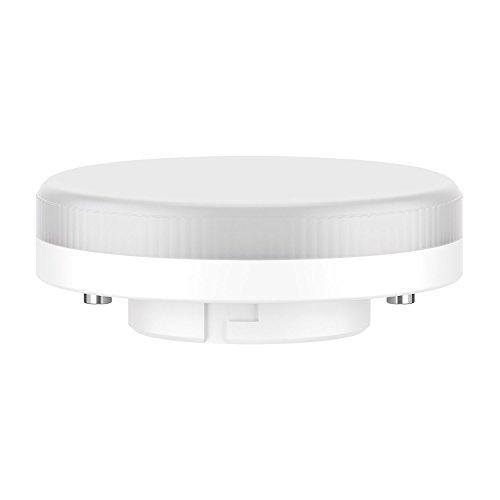 ledscom.de GX53 LED bombilla 6,3W=40W 450lm 100° blanca