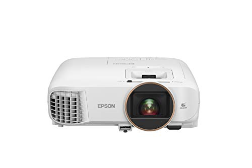 Epson Home Cinema 2250 3LCD Full HD 1080p Projector with Android TV, Streaming Projector, Home Theater Projector, 10W Speaker, Image Enhancement, 70,000:1 Contrast Ratio, HDMI (Renewed)