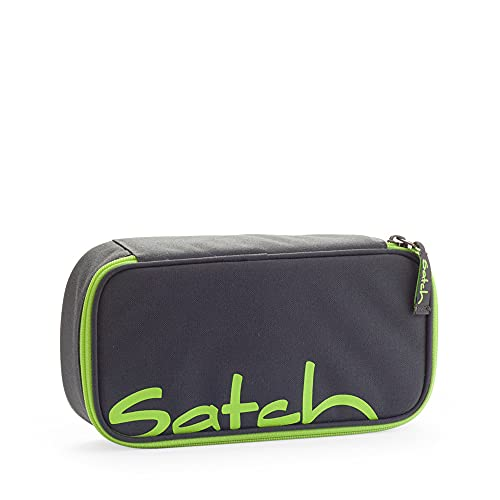 SATCH Phantom Federmäppchen, 22 cm, 0.3 Liter, Grey/ Green