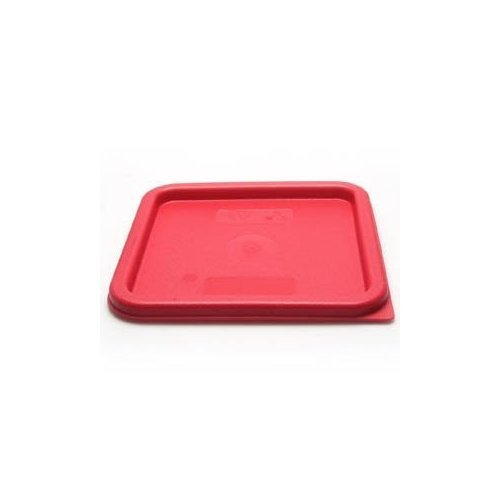 Cambro Medium Polyethylene Square Lids, fits 6 and 8 qt. containers, Pack of 6
