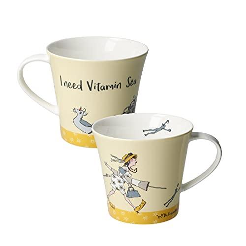 Goebel I Need Vitamin Sea - Coffee-/Tea Mug Tasse Dr. Barbara Freundlieb NEUHEIT 2020