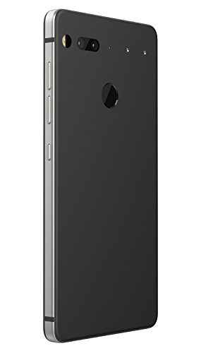 Essential Phone in Halo Gray - 128 GB Unlocked Titanium and Ceramic phone with Edge-to-Edge Display