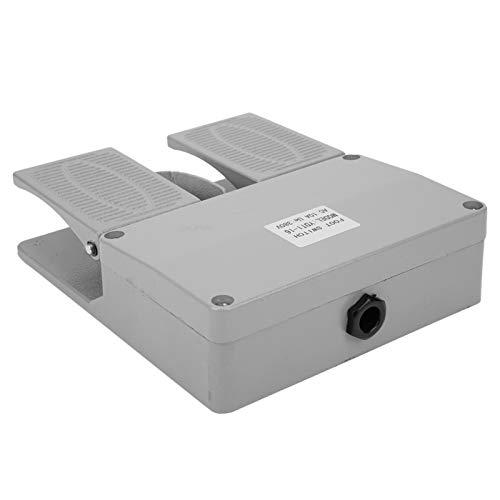 10A YDT1‑16 Interruptores eléctricos 16 Interruptor de pie de 380VAC Interruptor de pedal de aleación Máquinas de perforación para máquina eléctrica Kit de clip de suministro de energía