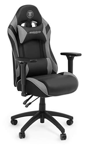 Snakebyte Gaming réglable: Siège Chaise de bureau pour gamers - gris