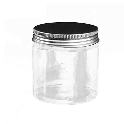 Frasco cosmético vacío, tapa redonda de aluminio, bálsamo labial, maquillaje, caja de embotellado, plástico, vacío, crema rellenable, mascarilla facial, contenedor de loción, frascos cosméticos