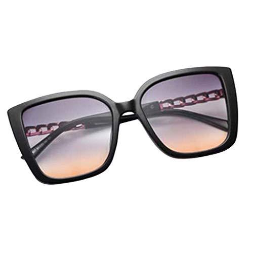 SM SunniMix Gafas de Sol Unisex de Moda Cateye Gafas de Sol...