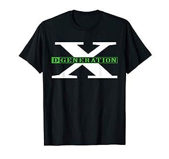 D-Generation X  Classic Green Logo  Graphic T-Shirt