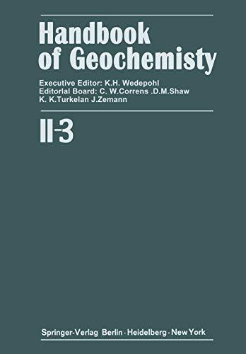 Elements Cr (24) to Br (35) (Handbook of Geochemistry (2 / 3), Band 2)