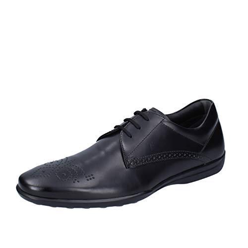 TOD'S Elegante Schuhe Herren Leder schwarz 39 EU