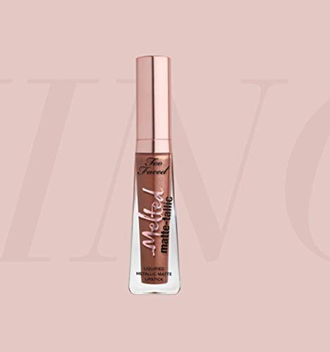 Too Faced Melted Matte-tallics liquid Lipstick - Faking It 7ml