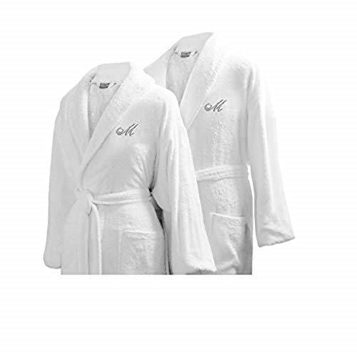 Luxor Linens - Terry Cloth Bathrobes - 100% Egyptian Cotton - Luxurious, Soft, Plush Durable Set of...