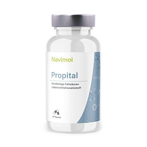 Propital 60 Kapseln - Monatspackung | 500mg pro Kapsel reine Propionsäure | Natriumpropionat | Aus deutscher Produktion