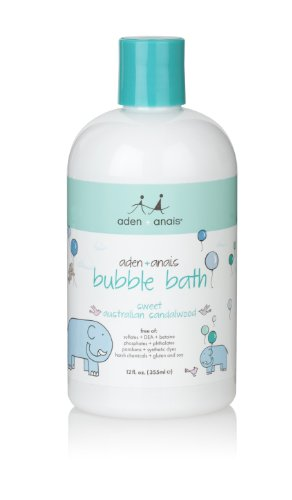 aden + anais Bubble Bath, 12 Fluid Ounce by aden + anais