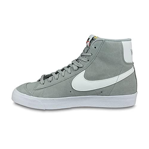 Nike Blazer Mid '77 Suede, Zapatillas de Gimnasio Hombre, Lt Smoke Grey White, 43 EU