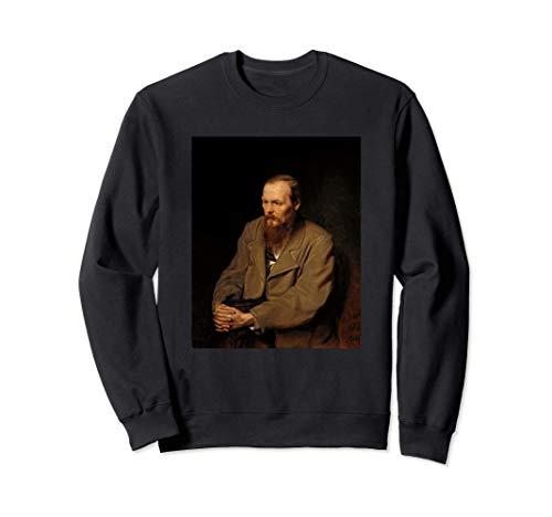 Retrato del escritor ruso Fyodor Dostoevsky Sudadera