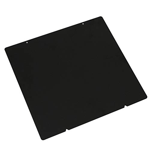 9.5x10inch Spring Steel Sheet 3D Printer Heat Bed Platform Double Sided Textured PEI Spring Steel Sheet Powder Coated 3D Printer Parts Printing Build Plate