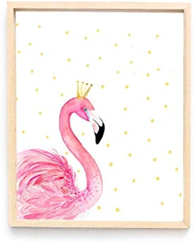 entrega rápida YAzNdom Flamingo acrílico Transparente salón Fondo Parojo Pintura Decorativa (Talla (Talla (Talla   S)  descuento de ventas