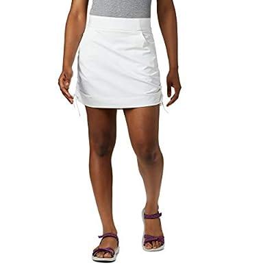 Columbia Women's Anytime Casual Skort, White, Medium