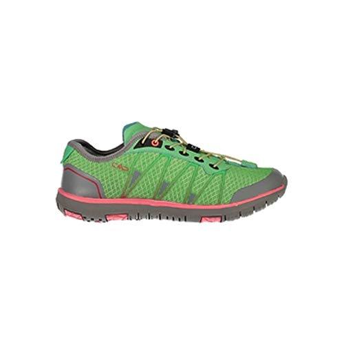 CMP Turnschuhe Sportschuhe Atlas Light Wmn Fitness Shoes grün atmungsaktiv Mesh (38 EU, E306 Green Tea)