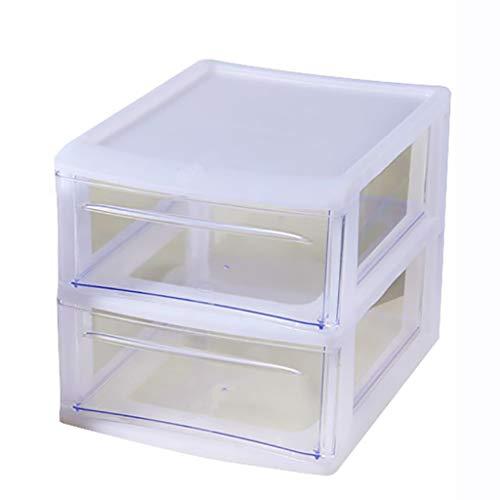 WSNBB Multi-Layer File Cabinet, Plastic Storage Box, Drawer A4 Paper Data Cabinet, Desk Locker, Suitable for Desktop (Size : B)