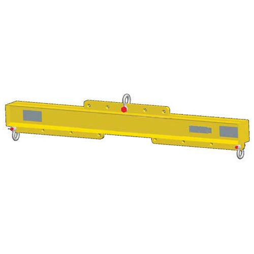 Check Out This M&W 48-120″ Economy Lift Beam Adjustable Length – 14,000 Lb. Capacity
