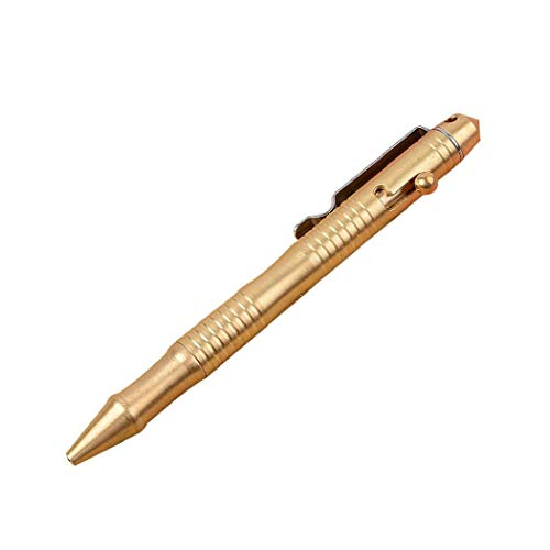 Massivem Messing Pen Mit Ausziehbarem Refills Und Bolt Aktion Tragbare Empfindliche Unterschrift Pen Kugelschreiber Für Business Office 0.5mm 1pc