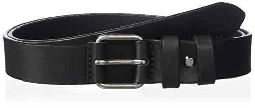 Nudie Jeans Herren Dwayne Leather Belt Gürtel, schwarz, 105 cm