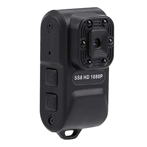 FOLOSAFENAR Mini videocámara Batería de Gran Capacidad incorporada La Mini cámara adopta un Buen Sensor de imágenes de 12M, para la Seguridad del hogar