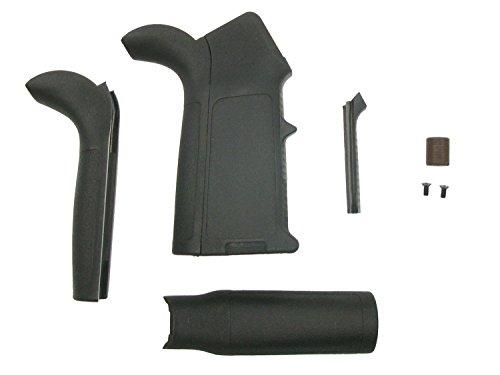 BEGADI Griff für Airsoft M4 / M16 (S) AEG Modelle, mit austauschbaren Griffstücken - inkl. Zubehör