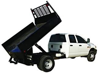 Pierce 5 Ton Hefty Hoist Dump Bed Kit for Flatbed Pickups with Bed Lengths up to 12'