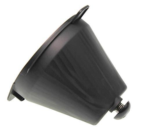 Filterhalter CP9949,996510064722 kompatibel mit/Ersatzteil für Philips HD7761, HD7762, HD7765, HD7766 Grind & Brew