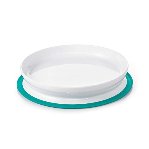 OXO Tot Stick & Stay Suction Plate, Teal