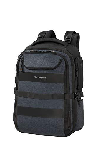 Samsonite Bleisure Laptop backpacks, 15.6 Zoll erweiterbar - Overnight (48 cm 29 L), Dark Blue
