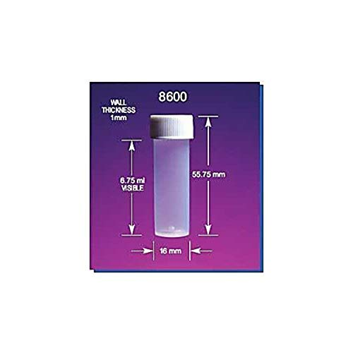 Molded in Graduations Pack of 1000 Stockwell Scientific 8515 Centrifuge Tube 15 ml Capacity Polystyrene